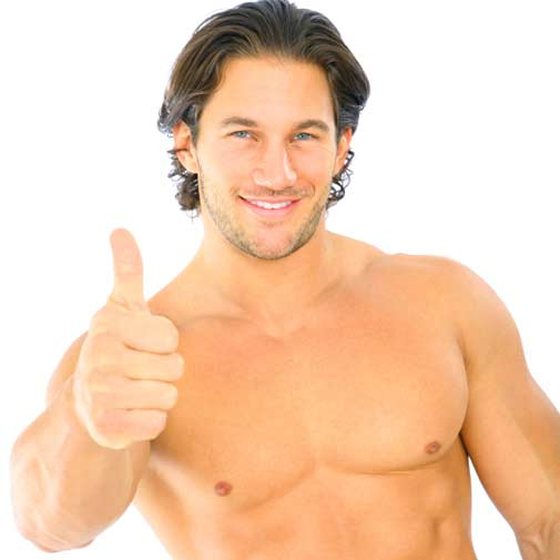 Pain free hair removal for men